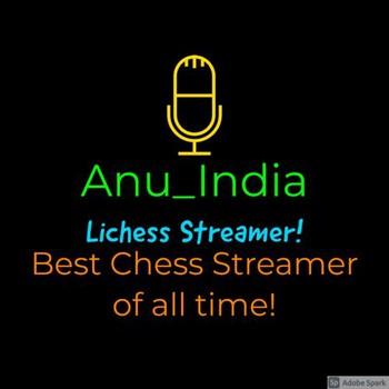 Anu_india Lichess streamer picture